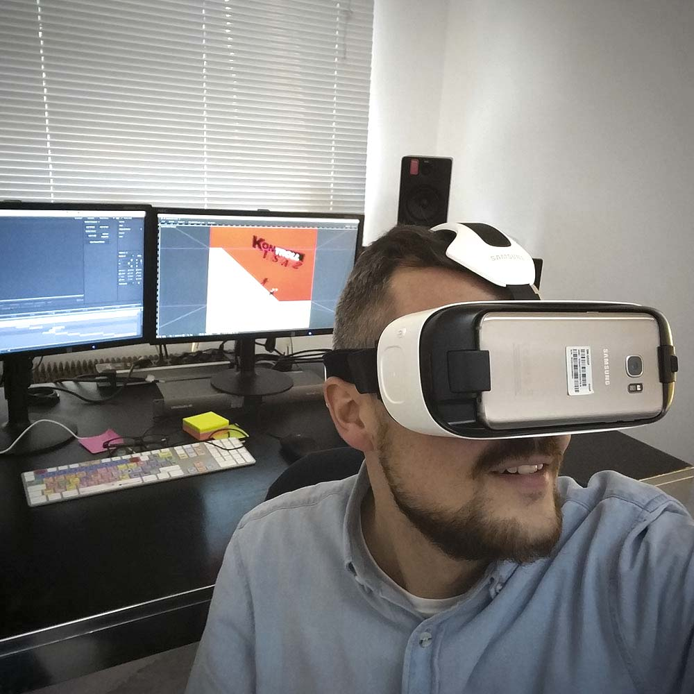 360 VR Brille - dela-media